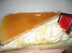 チーズケーキとレアチーズ