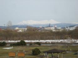 パークゴルフ場の雪もほとんどとけたようです(*^_^*)