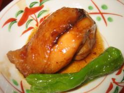 甘めの鶏肉