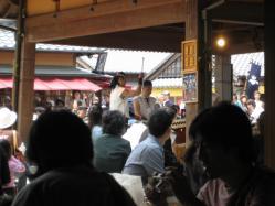 和太鼓の演奏が始まりました♪
