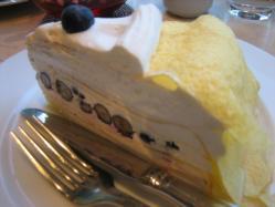 ブルーベリーとチーズがおいしい(^^)