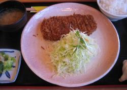 かつ伴の「ヒレかつ定食」(だったと思うんだけれど)1,720円