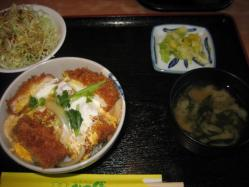 ミニかつ丼780円