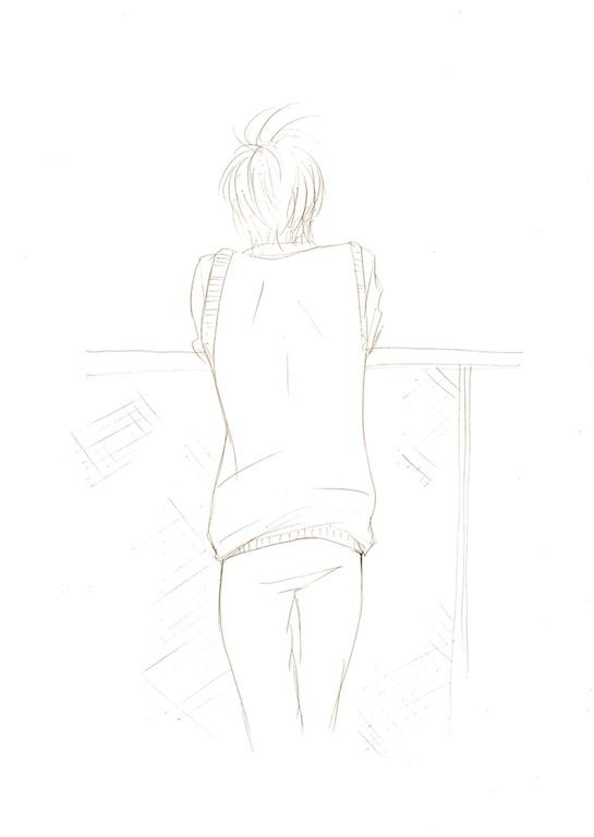 理人黄昏線画s