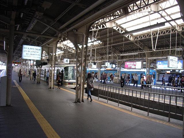 天王寺駅阪和線ホーム