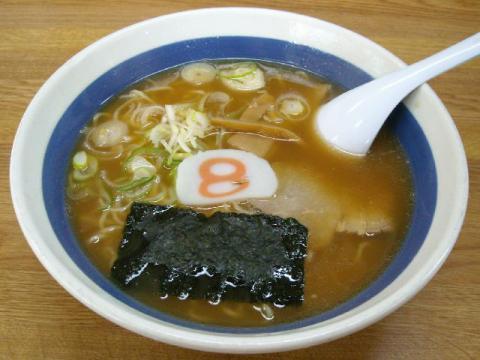 8番らーめん・中華麺