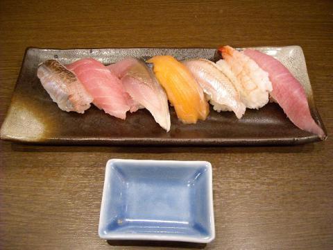 市玄・日替り握り寿司
