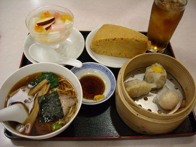 喜京屋・飲茶セット