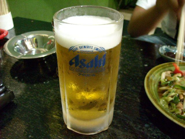 大五郎・生ビール
