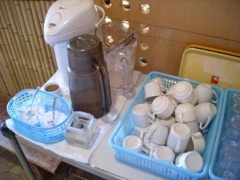 おさかな亭白根店・コーヒーコーナー
