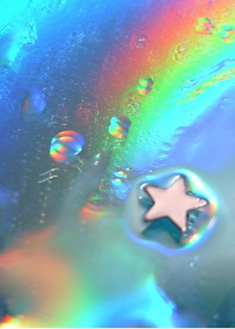 水と光のコラボ