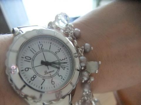 時計とブレス