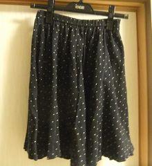 水玉スカート