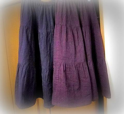 スカート2つ