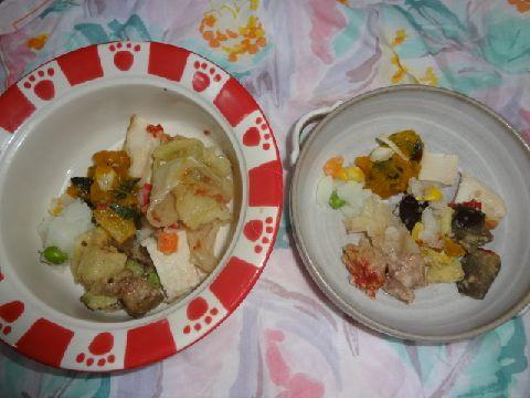 お皿が2つ