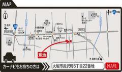 長沢町MAP(カラー)