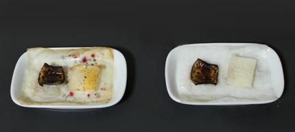 実験(食パンとバナナ)