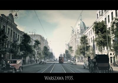 1935年のワルシャワ - シュバシ...