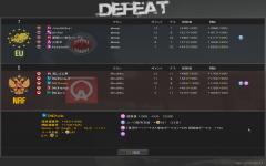 6月8日 vs sleep様 5-7 Lose