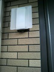 玄関屋外灯