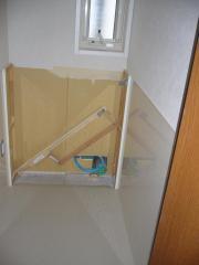 2階トイレ工事中