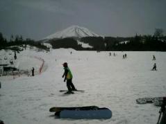 スキー2011下から