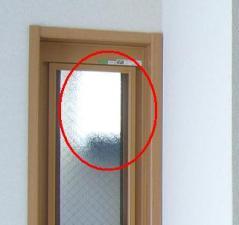 2階和室押出窓が干渉