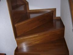階段の曲がり