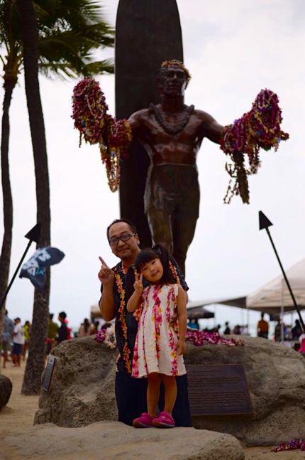 ハワイ デューク・カハナモクの写真