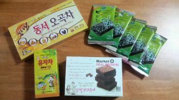 韓国旅行の御土産