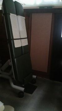 停電中の治療室