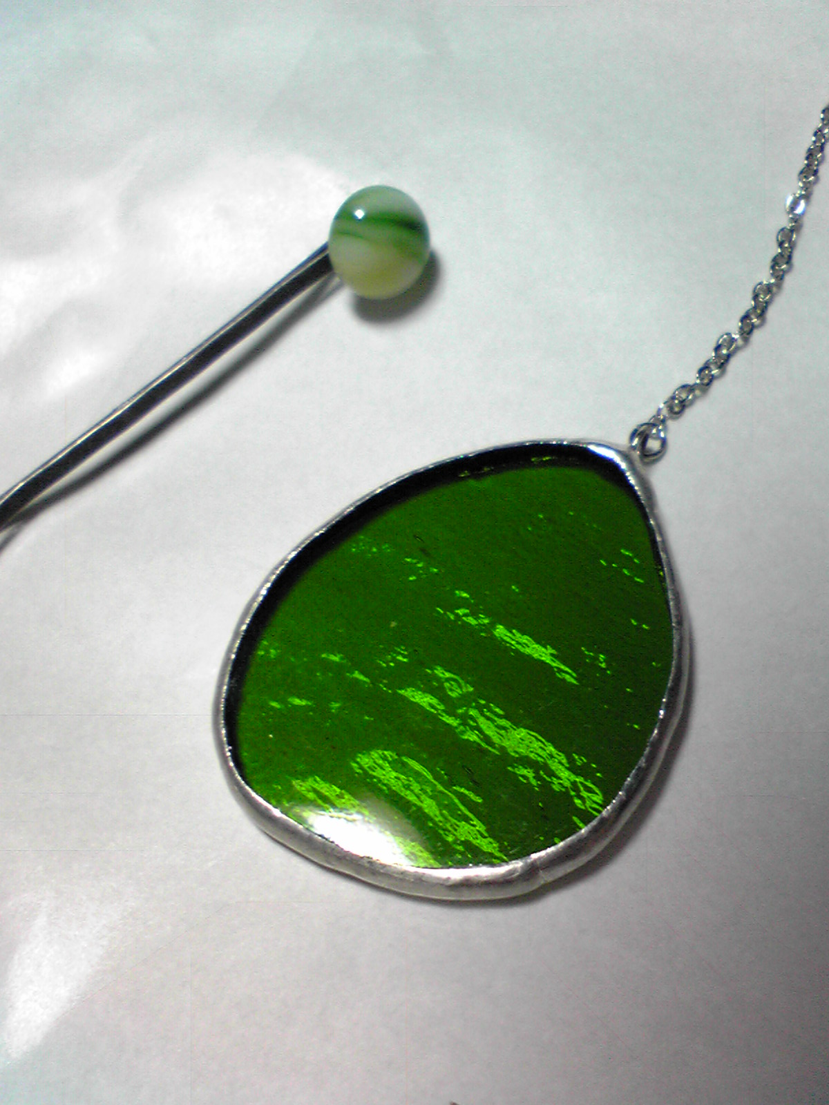 緑色のもの