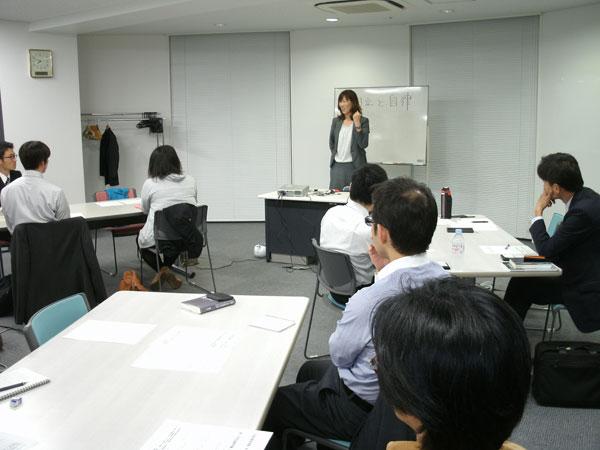 プロサラ千葉支部で求める人材像について講演いただいている株式会社イシドの沼田社長