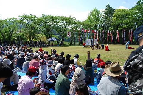 長篠合戦のぼり祭り