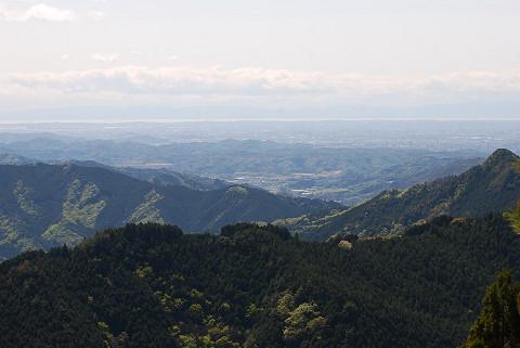 本宮山スカイラインからの風景1
