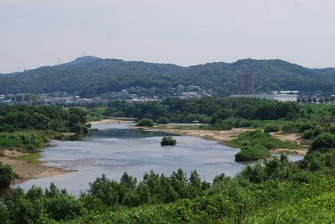 矢作川の風景が