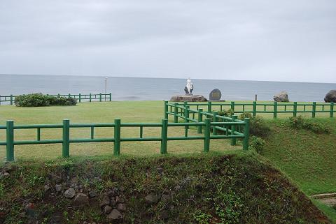 象潟の海岸風景