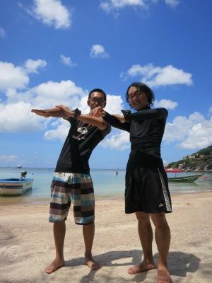 タオ島 ダイビング 朝日