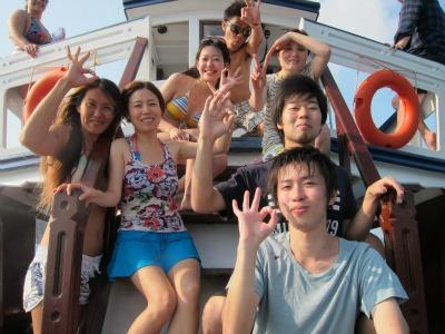 集合写真 船上3月9日
