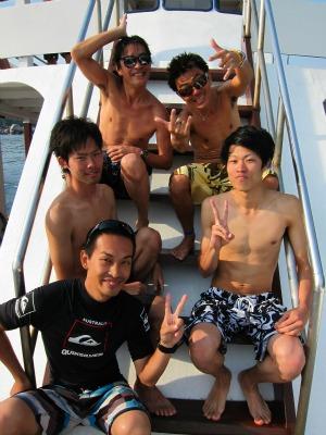タオ島 ダイビング 集合写真 2月20日