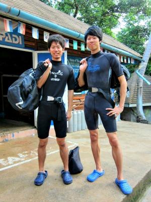 タオ島 ダイビング講習 限定水域