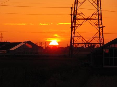 2011.9.12 夕焼け