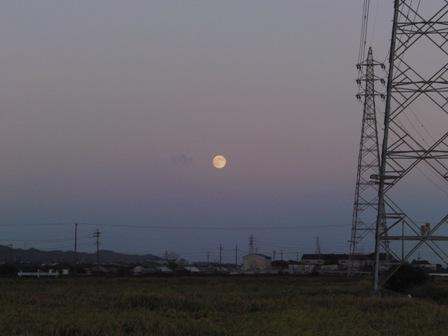 2011.9.12 仲秋の名月1
