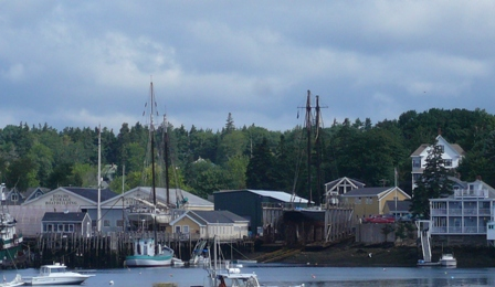 Boothbay Harbor Shipyard 2