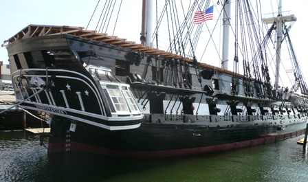 USS Constitution July 2008