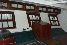 USS Constitution Inside Stern