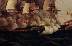 USS_Constitution_vs_Guerriere Starn View