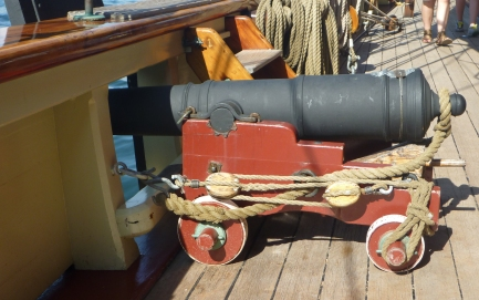 Pride of Baltimore Cannon