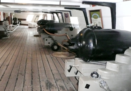 USS Constellation (4) Gun Deck