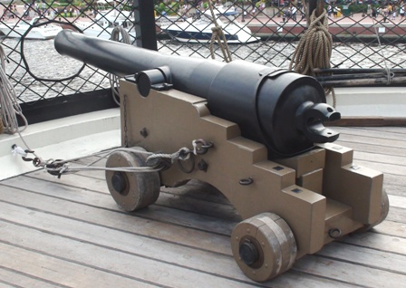 USS Constellation (11) Parrot Rifle